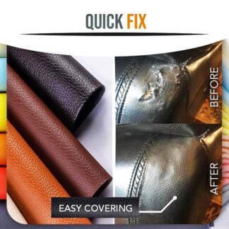 Δερμάτινο μπάλωμα επισκευής QuickFix