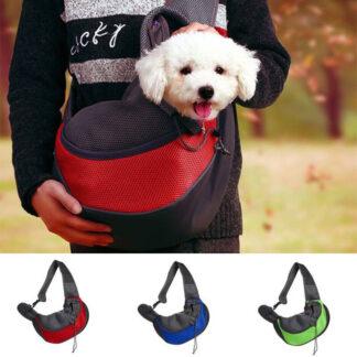 Borsetă frontală de transportat câini Chico