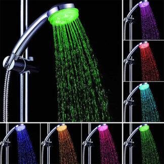 Pară de duș cu LED Serene