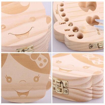 Cutie pentru dinții de lapte